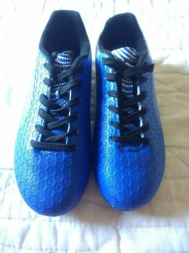 cleats soccer youth size 3 5 blue