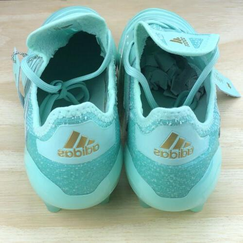 Adidas Leather Green Blue Mint Multi