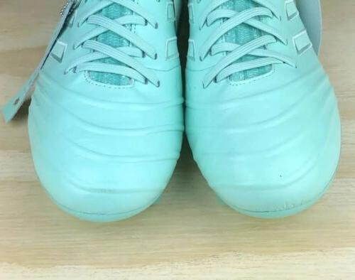 Leather Green Mint Soccer Cleats Multi Size