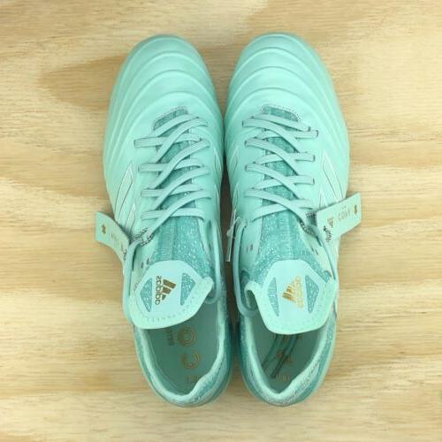 Adidas Copa Leather Blue Mint Soccer Cleats DB2167 Multi Size