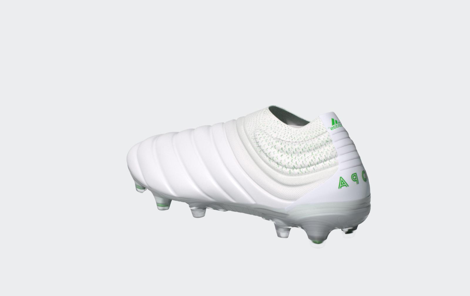 Adidas Copa Mens Laceless White/Green MULTIPLE