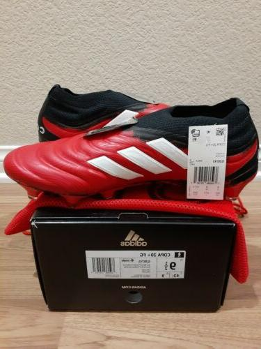Adidas Copa 20+ firm ground Red/white/Black Size