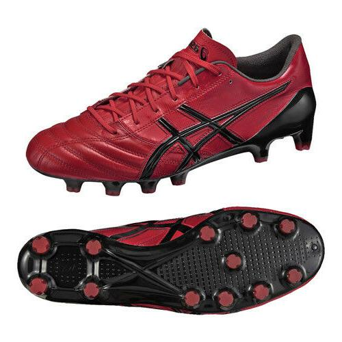 Asics ds light x-fly 3 leather fg soccer cleats size 8