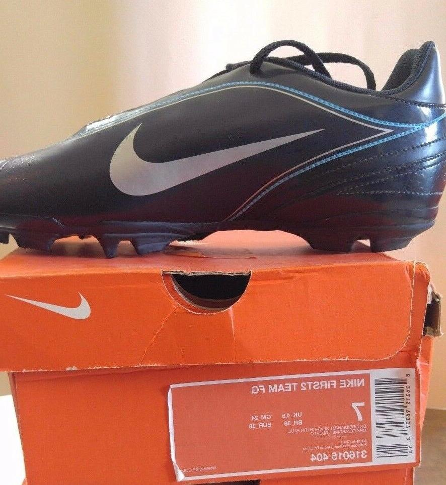 Nike First2 Team FG Soccer Cleat Molded #316015 404 Size 7