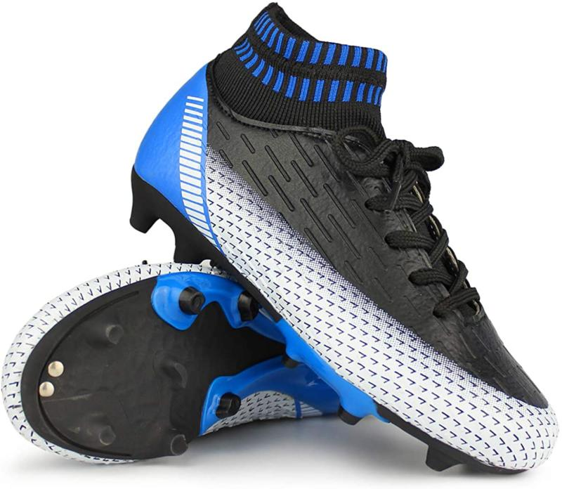 Hawkwell Kids Cleats High-Top Ankle Care Soccer