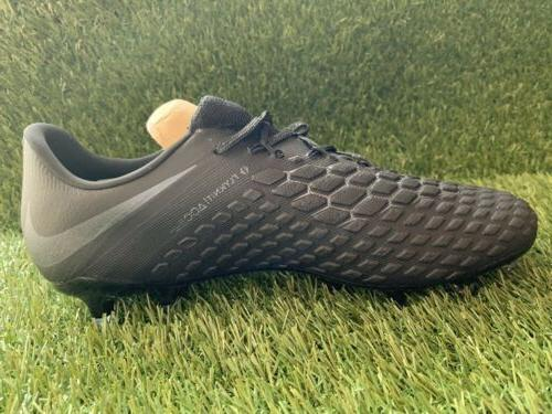 Nike Hypervenom Elite FG Black Cleats