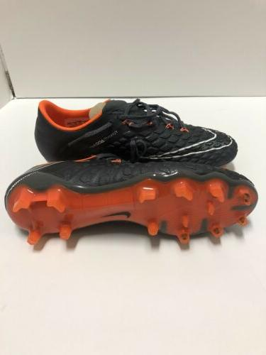 Nike Hypervenom Phantom Elite FG Grey AH7273-081 Men's 7.5