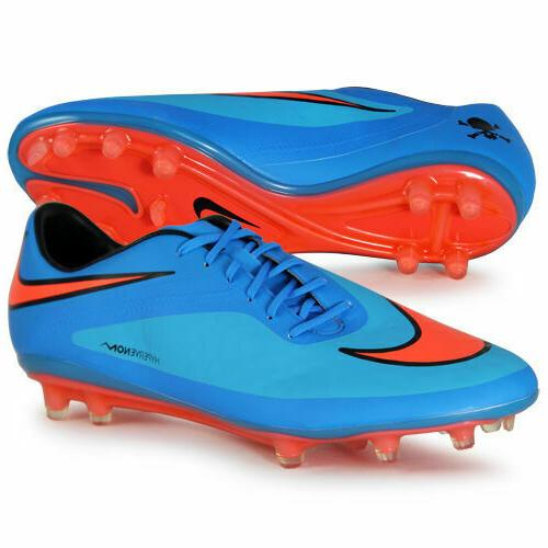 NIKE HYPERVENOM PHATAL FG SOCCER CLEATS SIZE 9 CLEARWATER BL
