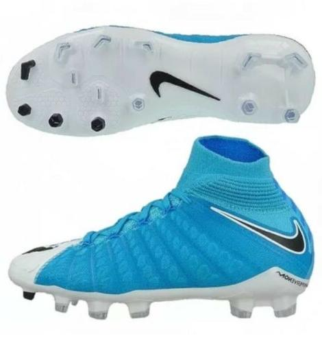 Nike 3 Cleats Blue Size