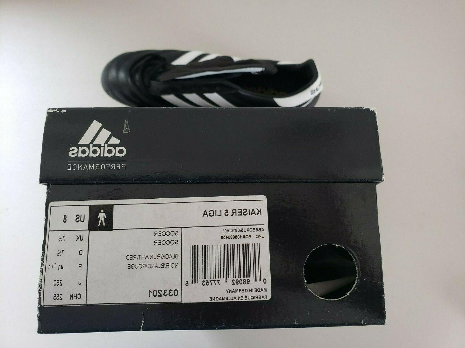 Adidas Kaiser 5 Leather Cleats, Men Size US