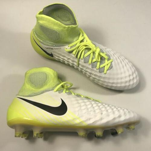 Nike Magista FG Soccer Cleats Green White Size