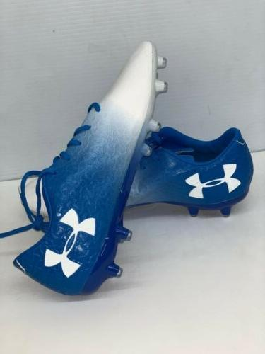 Under FG Soccer Cleats US size and White