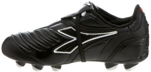 Diadora Maracana Shoe ,Black/Black,3 Little