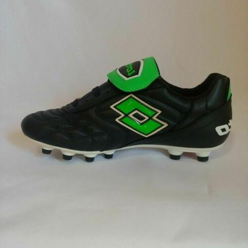 Lotto PU PRO Black & Green