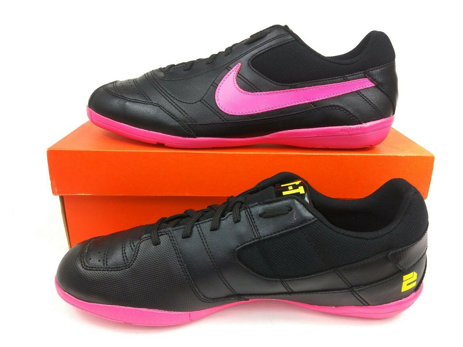 Nike Mens T-1 FS Pink Soccer Shoes Cleats