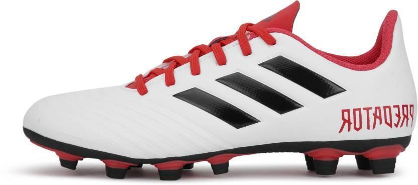 Mens Cleats PREDATOR 18.4 FLEXIBLE CLEATS White