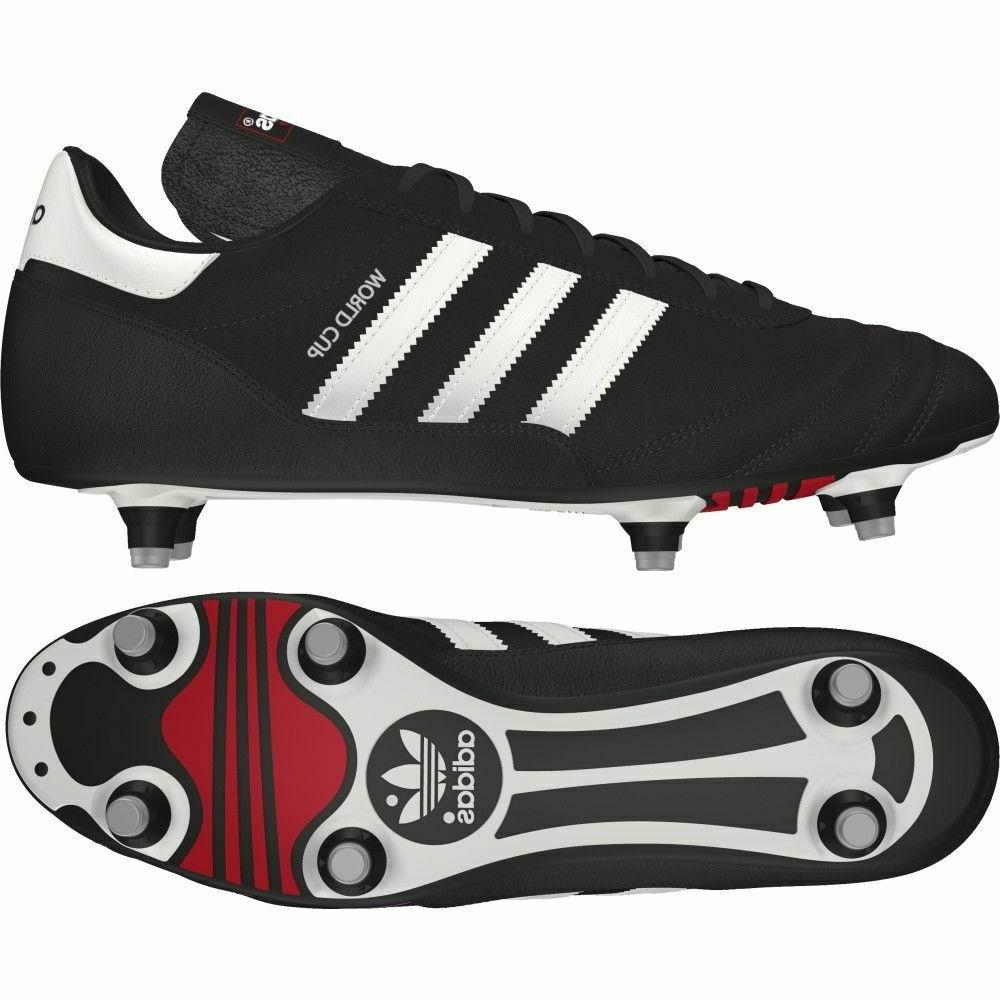MENS WORLD COPA MUNDIAL FOOTBALL CLEATS BLACK SHOES