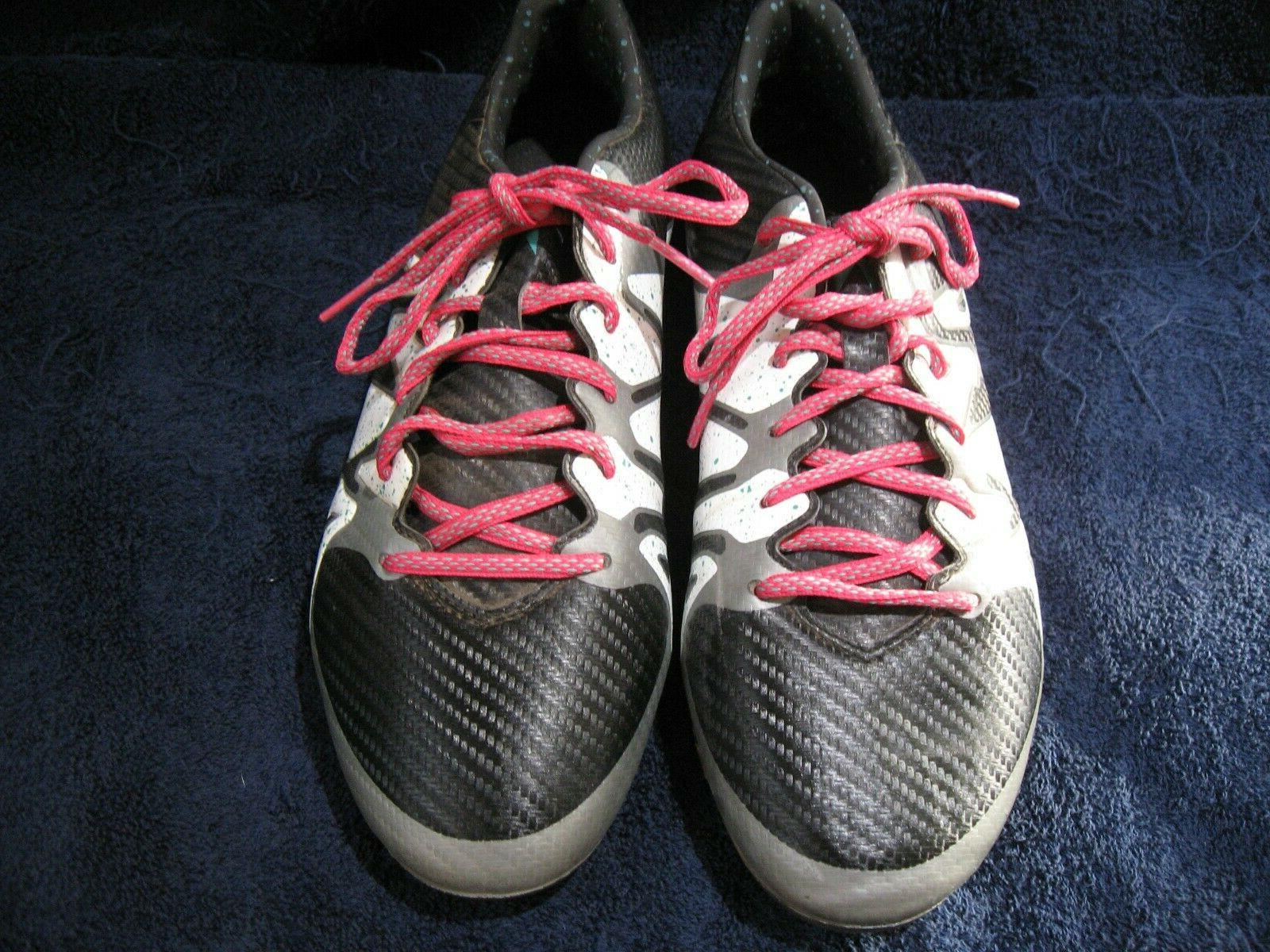 mens x soccer cleats size 10 1