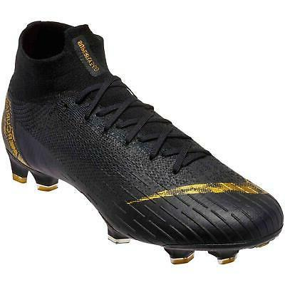 Nike Elite FG Black Cleats 9.5