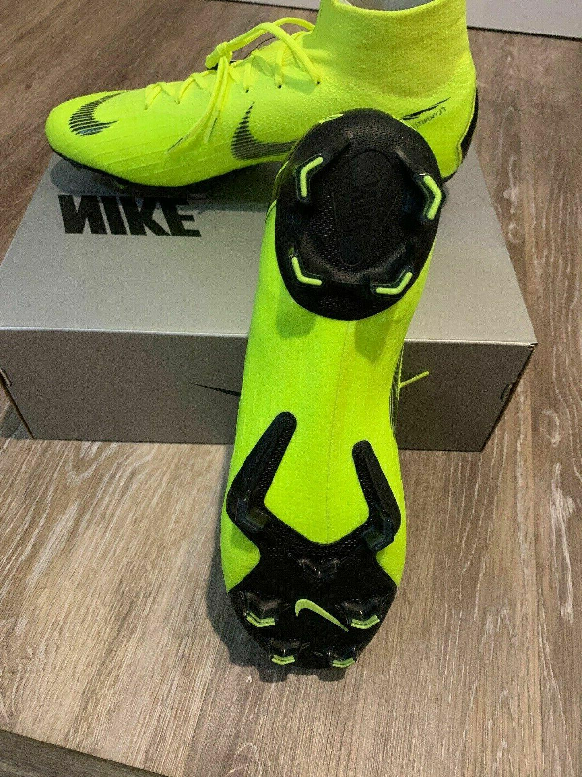 Nike Elite FG Volt/Blk Cleats