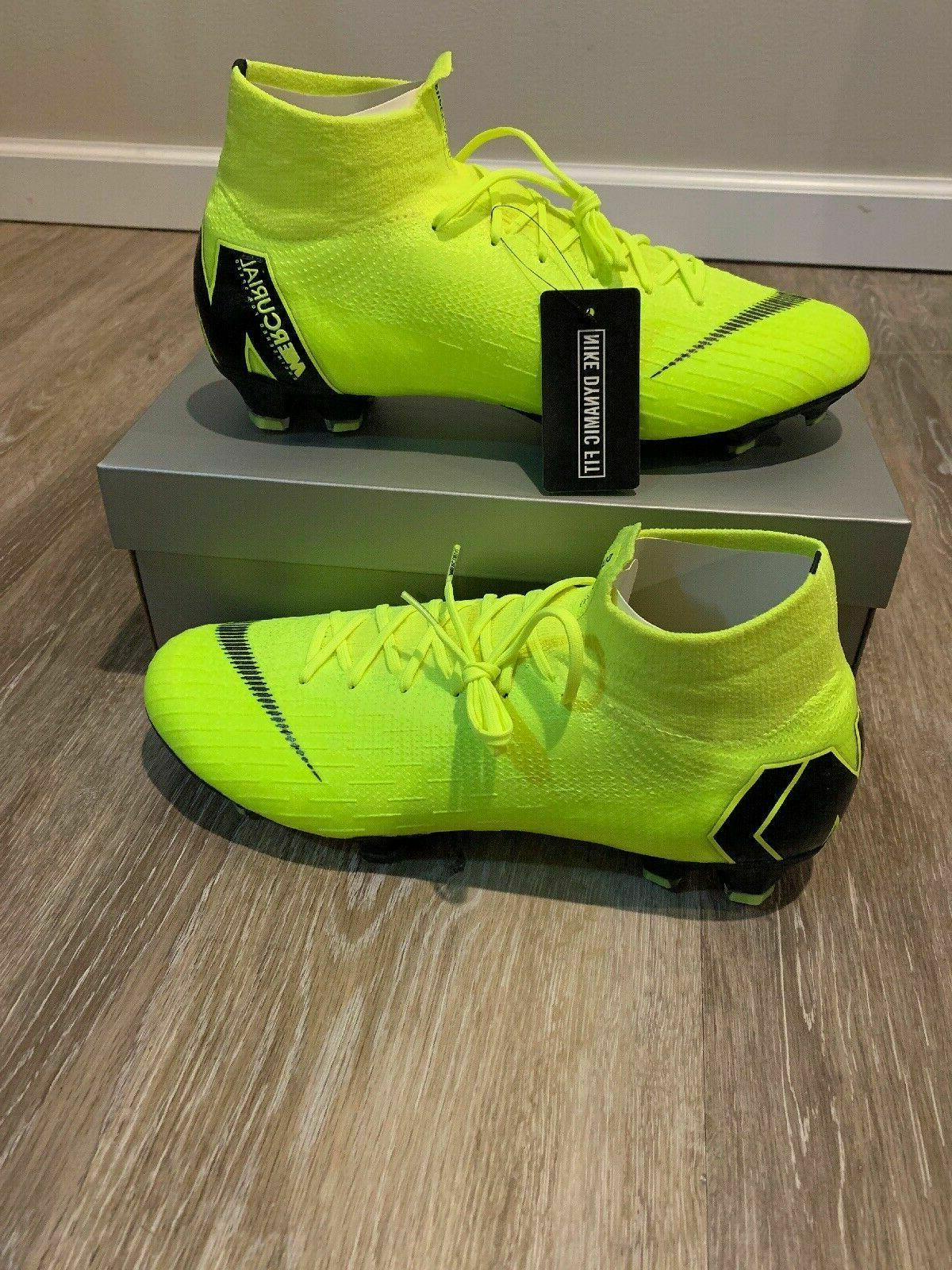 mercurial superfly 6 elite fg volt blk