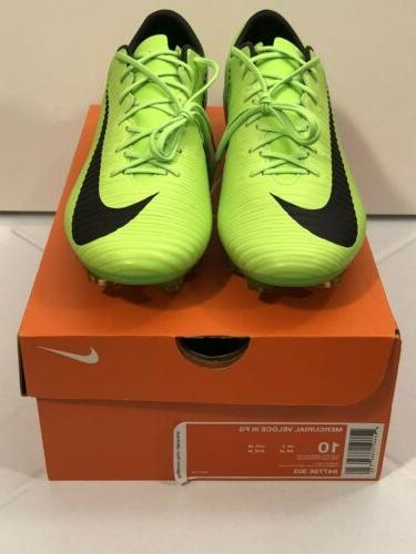 Nike FG Soccer Size 10 Electric