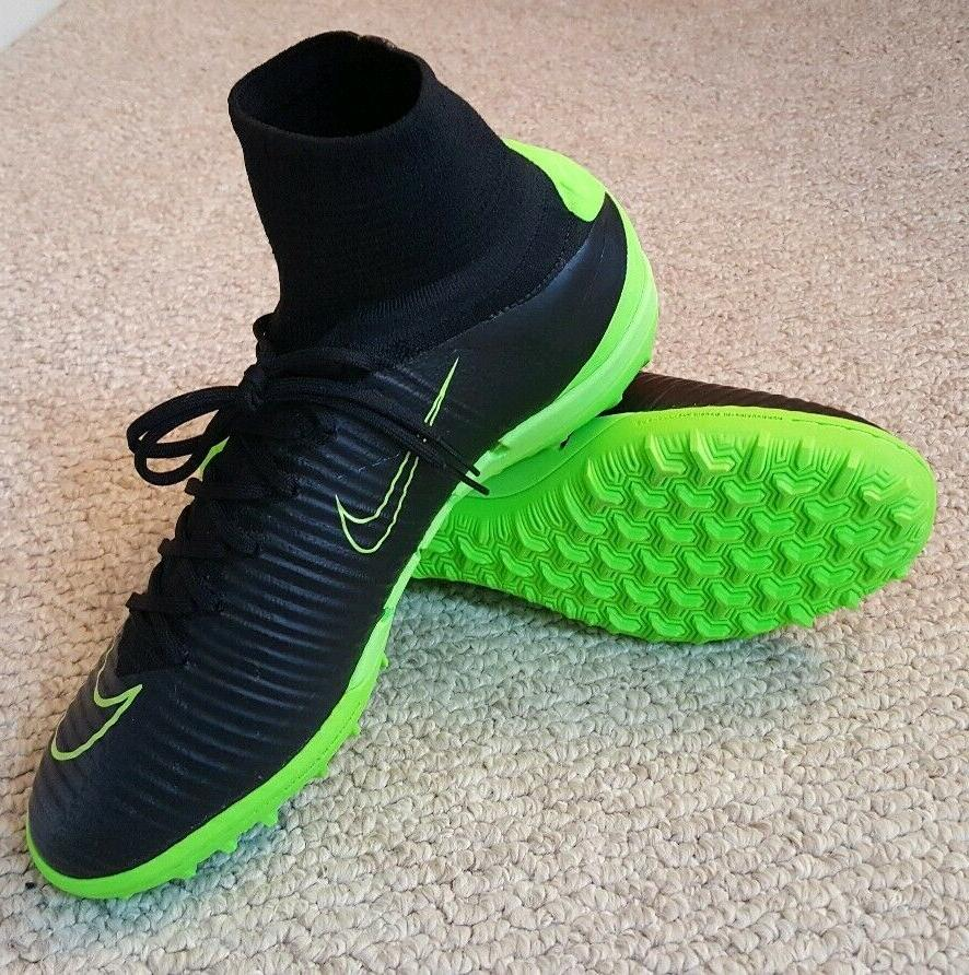 Nike Proximo Turf Soccer Shoes/Cleats-NEW 10.5-Black/Green