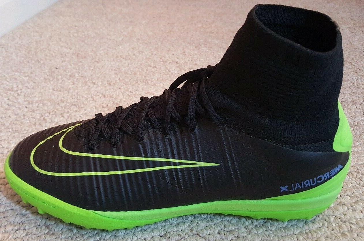Nike Turf Soccer Shoes/Cleats-NEW 10.5-Black/Green