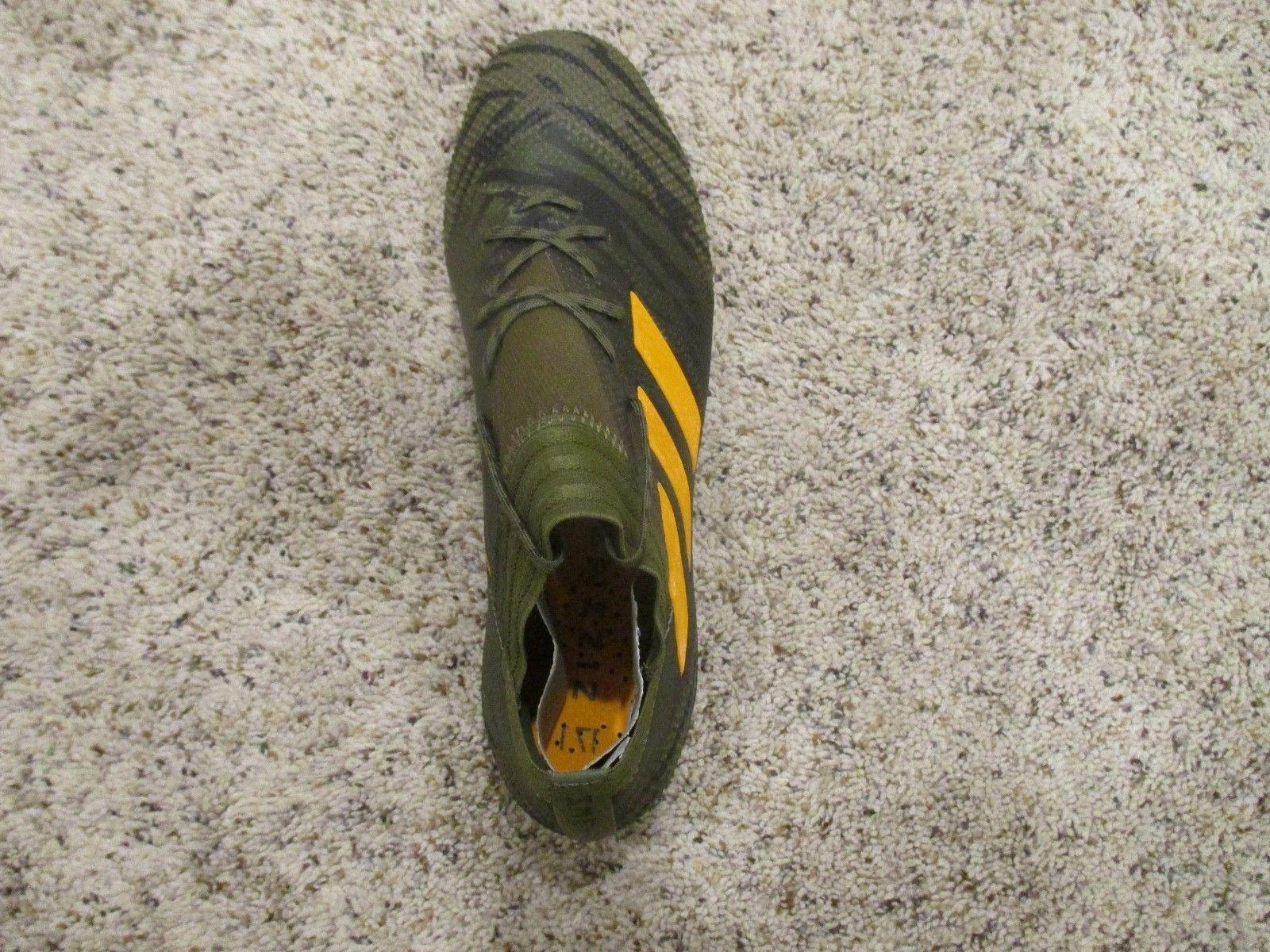 ADIDAS 17.1 SOCCER OLIVE GREEN 8.5