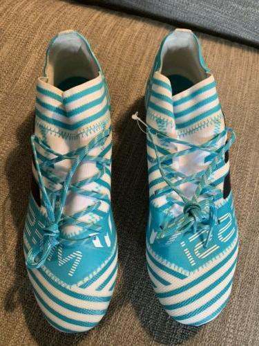 Adidas Cleats Teal Size 8 NWOB