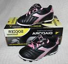 NEW Diadora Forza MD Jr Soccer Shoes Cleats Girls Youth Size