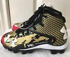 ~NEW~ Kids Youth UNDER ARMOUR Deception Mid Rim Gold/Black C