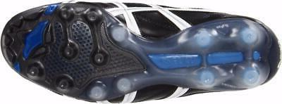 New Men's Asics Tigreor Cleats Size 8-15 Black White