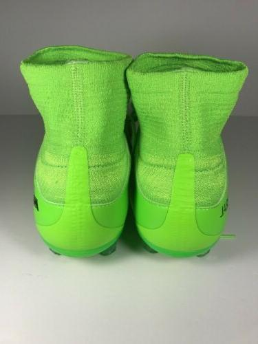 NEW III 3 Green Cleats Size 6