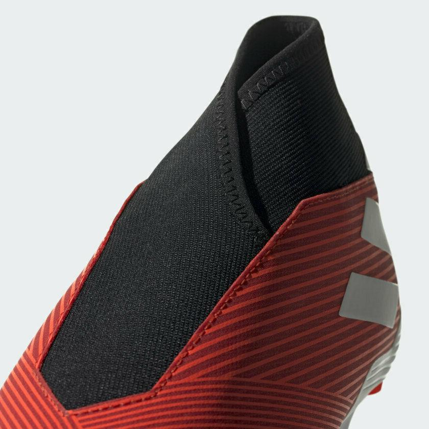 New Adidas FG Laceless Cleats Boots Red Men's Size 9.5