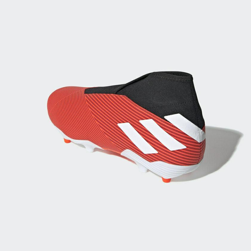 New FG Soccer Boots Red 9.5