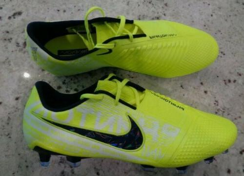 *NEW* Nike Phantom Elite Cleats 'Volt' AO7540-717, Mens Sz 8.5
