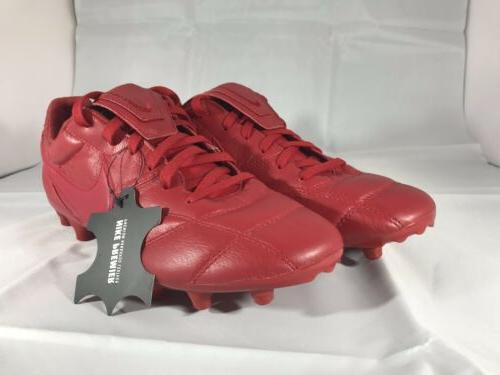 new premier ii fg leather soccer cleats