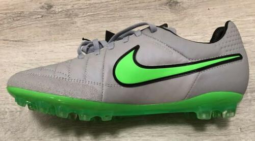 NEW V Green Cleats size