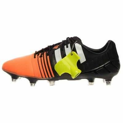 adidas 1.0 Casual Soccer Cleats Black Mens Size 6.5
