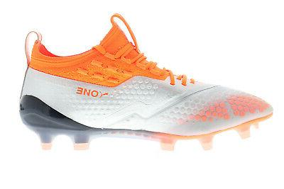 AG Mens Gray Low Soccer Cleats