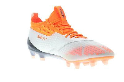 Puma One AG Gray Soccer Cleats Shoes