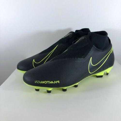phantom venom academy soccer cleats black volt