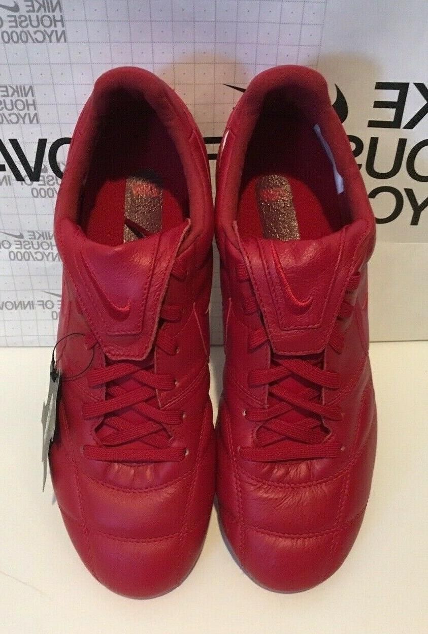 Nike Premier II Leather Red Men's 7