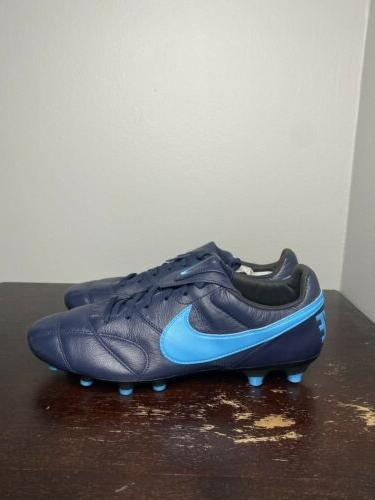 Size Premier II FG Leather Soccer Cleats 917803-440