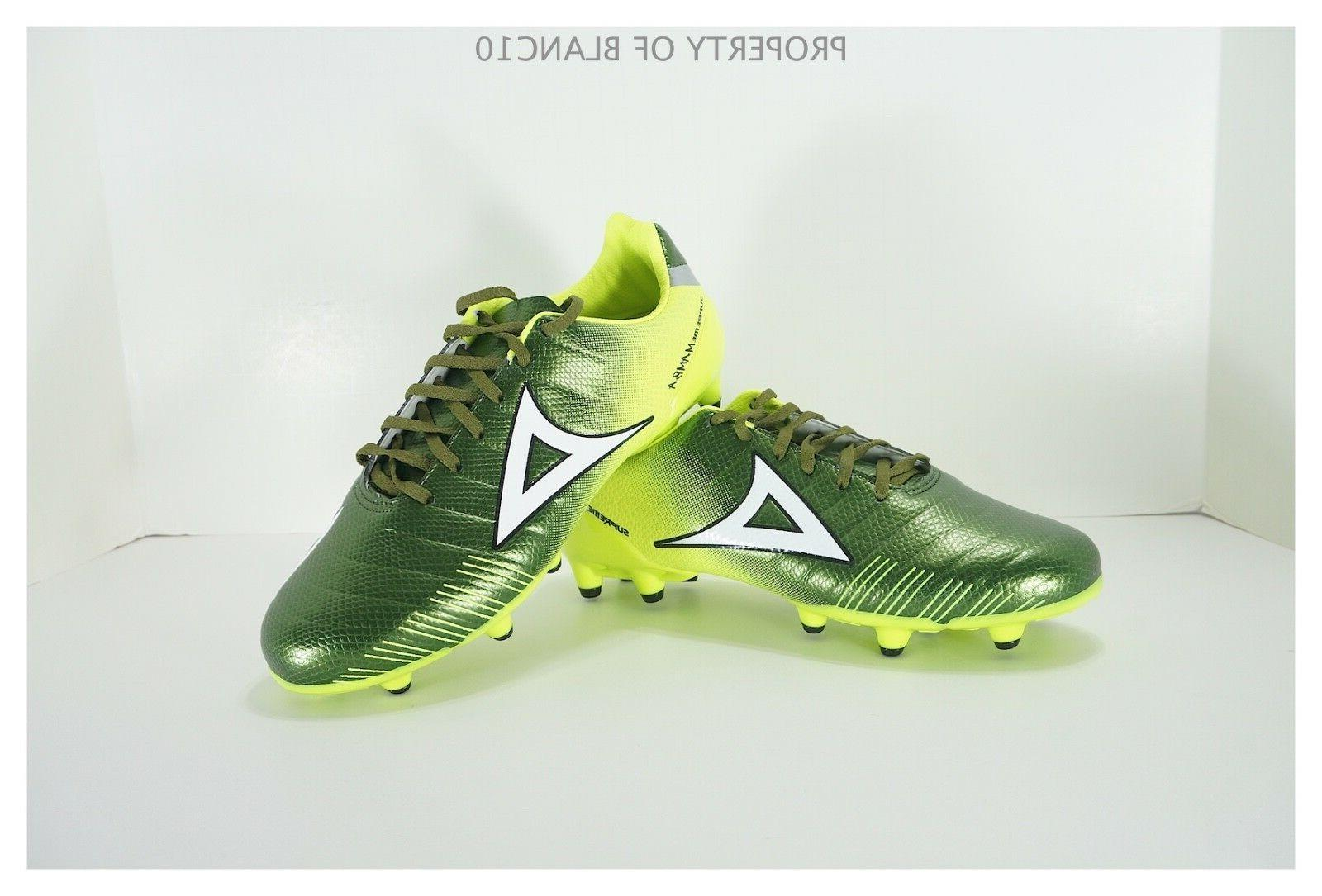 soccer cleats style 179 green yellow black