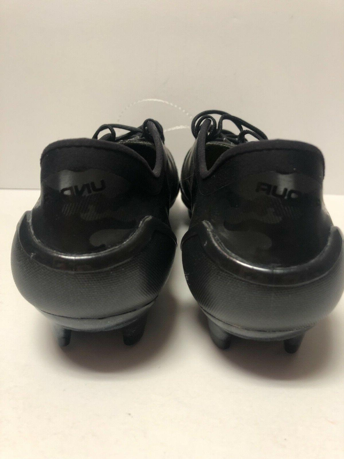 Under Armour FG Limited Edition Black Cleats