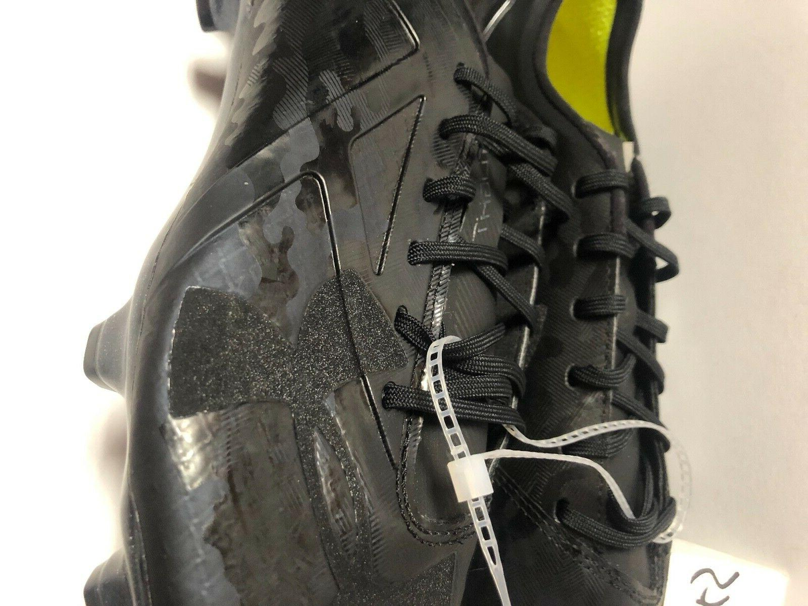 Under Armour Limited Edition Black Cleats Men's Size