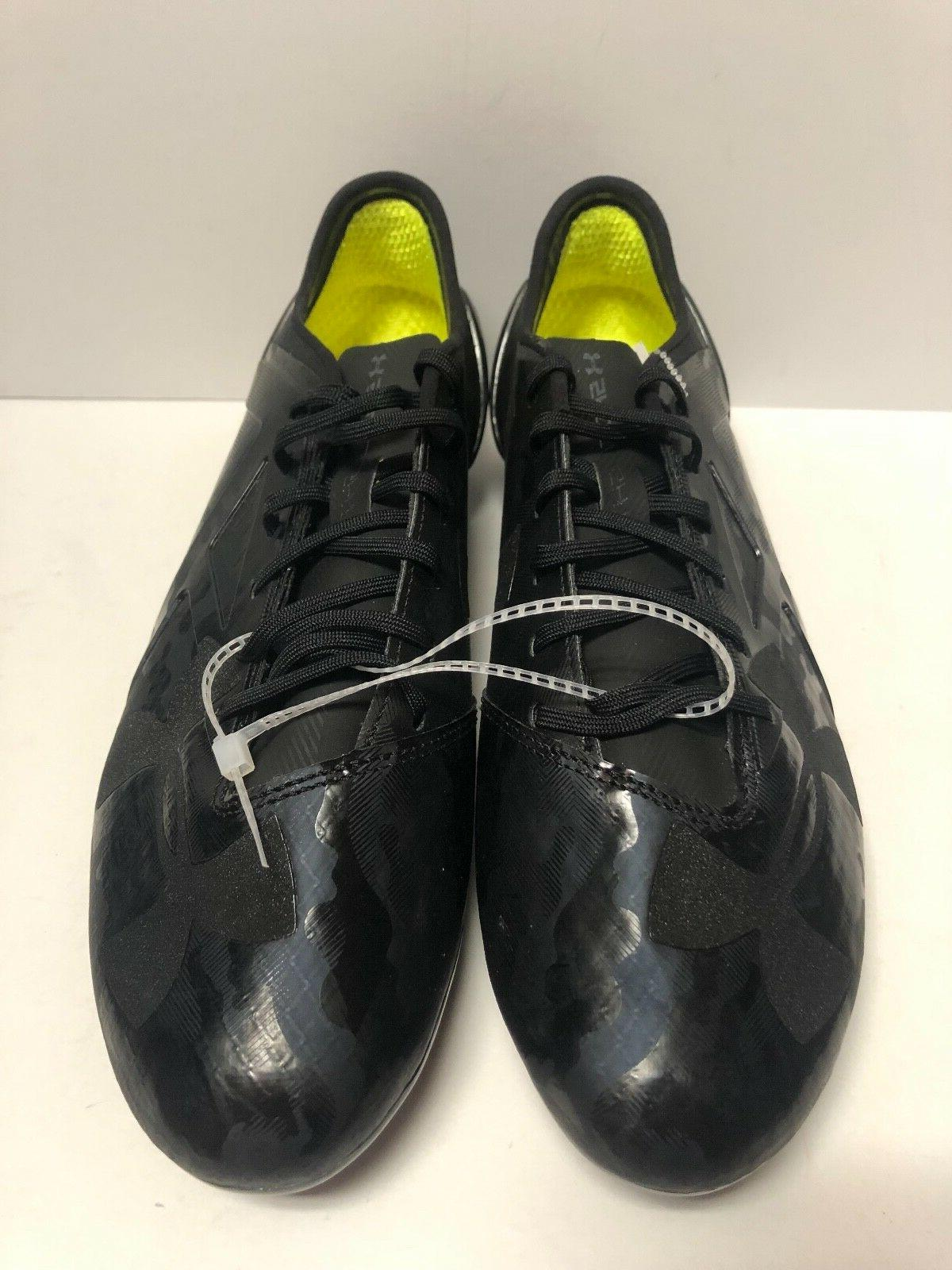 Under Limited Edition Black Cleats Size