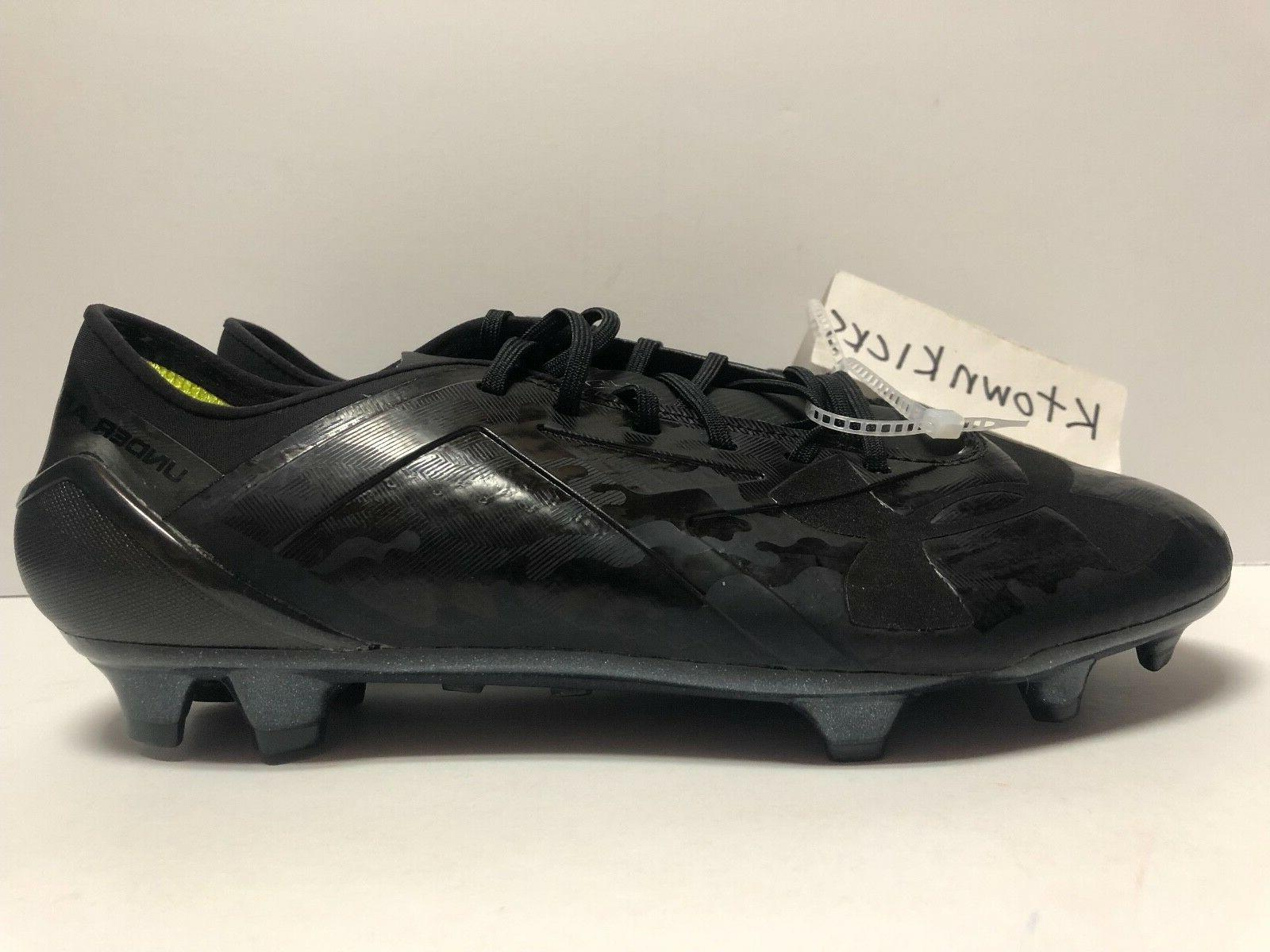 Under Limited Black Cleats 9.5